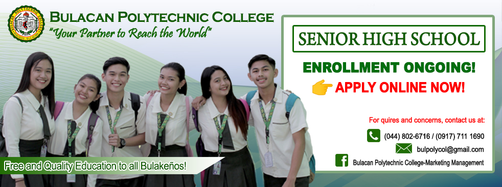 Senior High School Online Enrollment SY 2020-2021