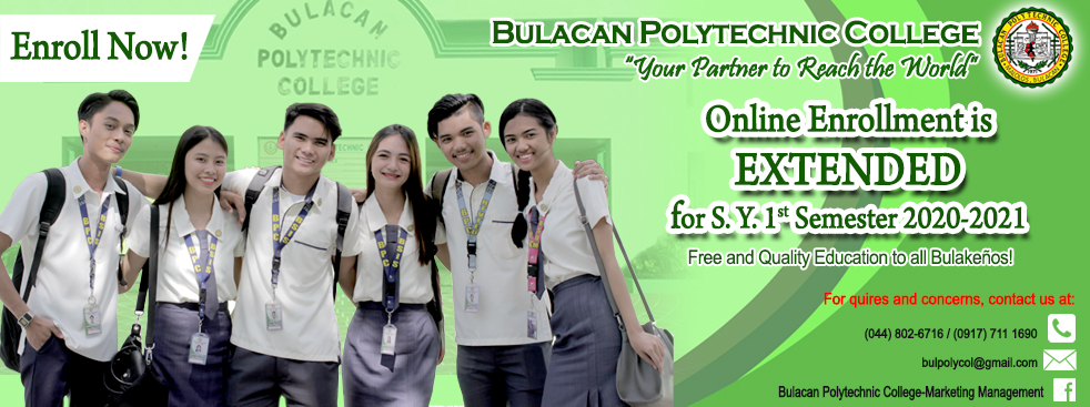 Online Enrollment for SY 2020-2021